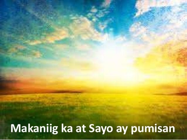 Makaniig ka at Sayo ay pumisan