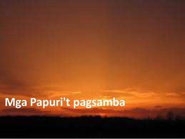 Mga Papuri't pagsamba