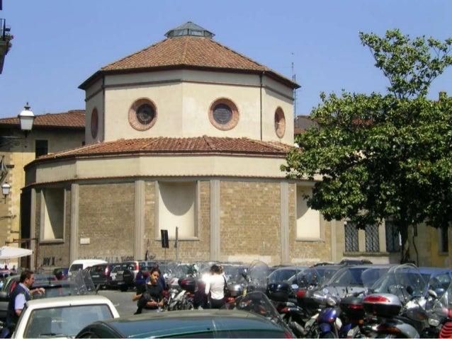 Filippo brunelleschi - La tavola rotonda santa maria degli angeli ...