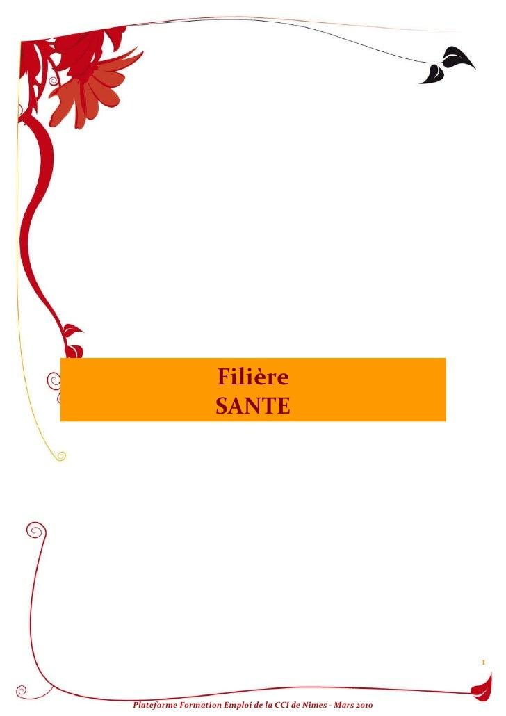 Filière SANTE