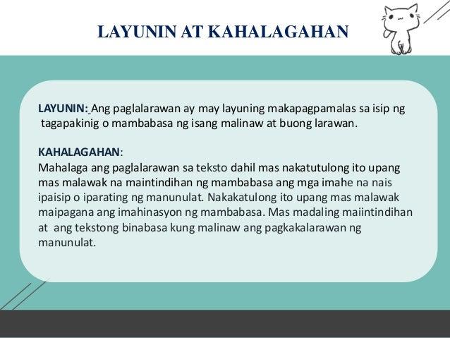 TEKSTONG DESKRIPTIBO - FILIPINO  Slide 3
