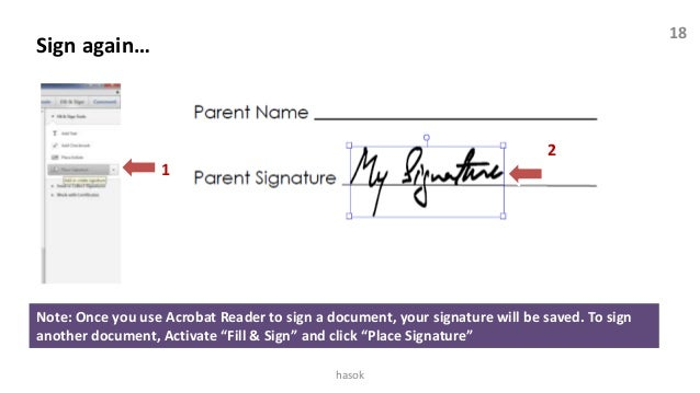 Fill and sign pdf documents with Adobe Acrobat XI