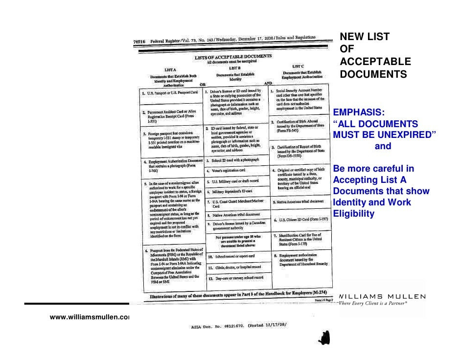 Nuts and Bolts of Filling in the New I-9 Form