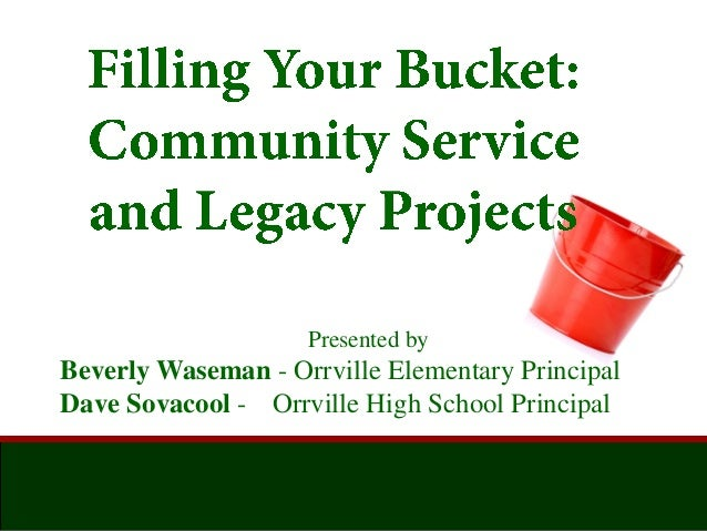 Presented by Beverly Waseman - Orrville Elementary Principal Dave Sovacool - Orrville High School Principal