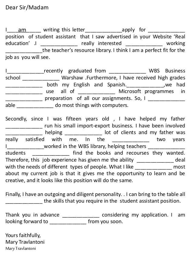 Thank You Letter For Application from image.slidesharecdn.com