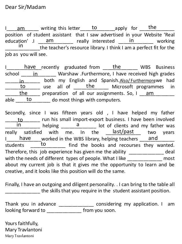 Letter To Apply For A Job from image.slidesharecdn.com