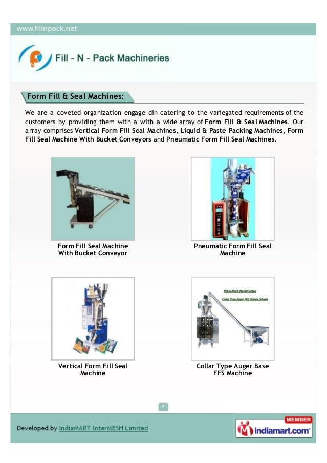 Fill - N - Pack Machinaries, Faridabad, Packing Machine Slide 3
