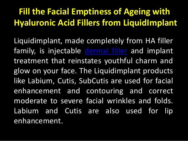 Hyaluronic Acid Filler
