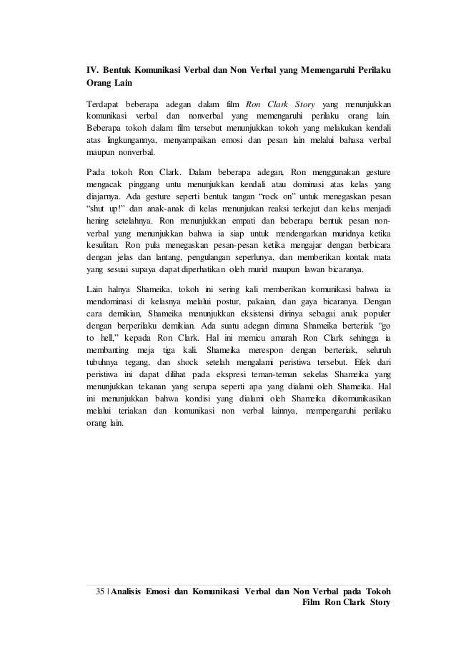 Laporan Observasi Film Ron Clark Story Psikologi Komunikasi