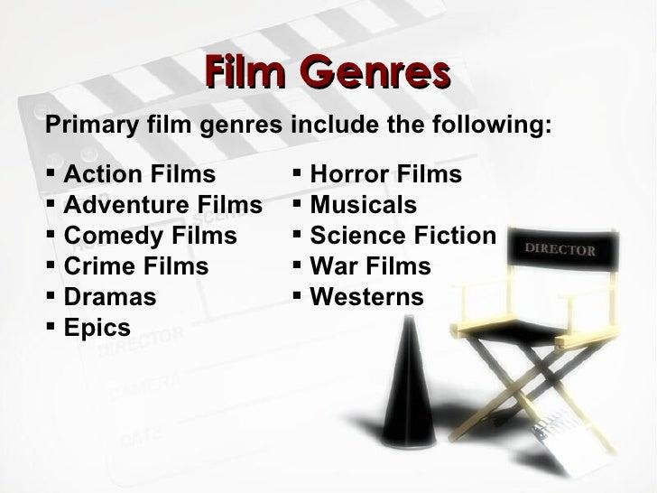 horror movie categories