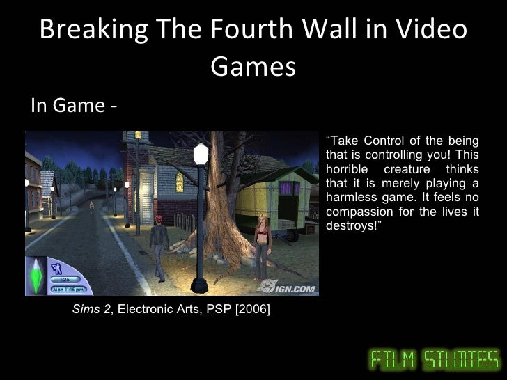 The Best 4th Wall Breaks in Video Games 2! Easter Eggs ...