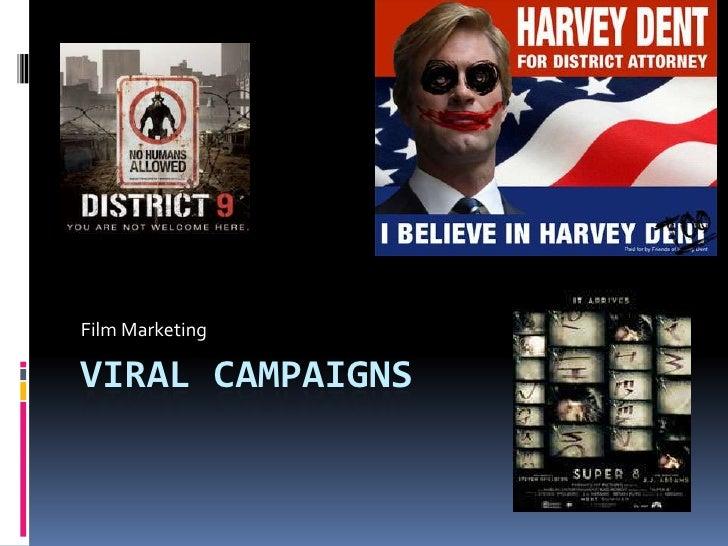 Viral Campaigns<br />Film Marketing<br />