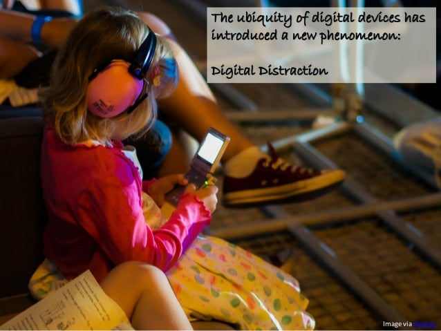 Overcoming Distraction in the Digital Age Slide 2