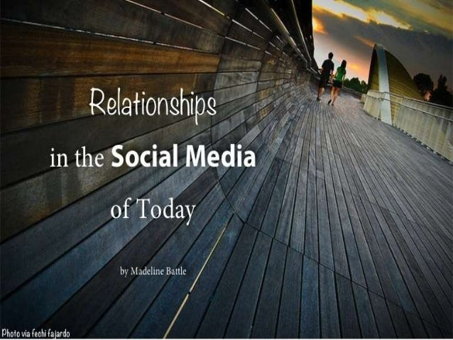 Our social media profiles are presentations of our lives; if we are wise we will pick andchoose what to share, but it is s...