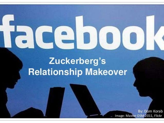 Zuckerberg'sRelationship MakeoverBy: Dom KorabImage: Master OSM 2011, Flickr