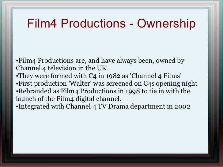 Film 4 presentation Slide 2