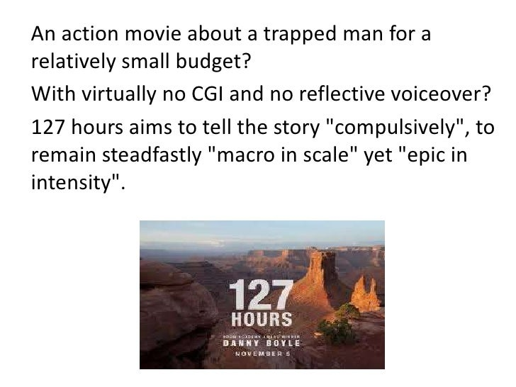 """Distribution and                 Marketing•   """"127 Hours"""" has struggled at the box office, where its grossed just under $1..."""