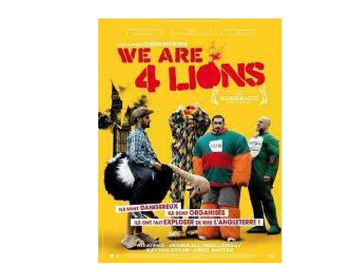 Web 2.0Four Lions' website contains:• links for you to link trailers and the website to social networking  sites.• a live ...