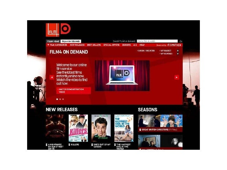 •   Film4oD continues to showcase great films you know, great films you dont -    viewers can rent films which amplify the...
