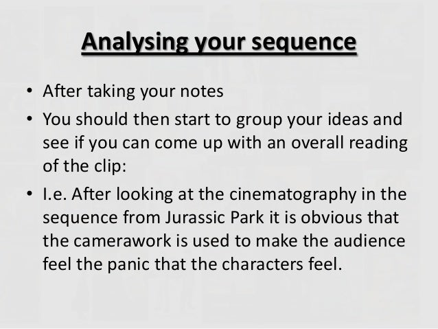 define analysis essay