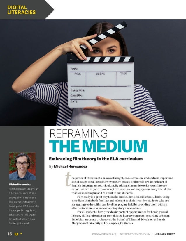 Embracing Film Theory in ELA Curriculum