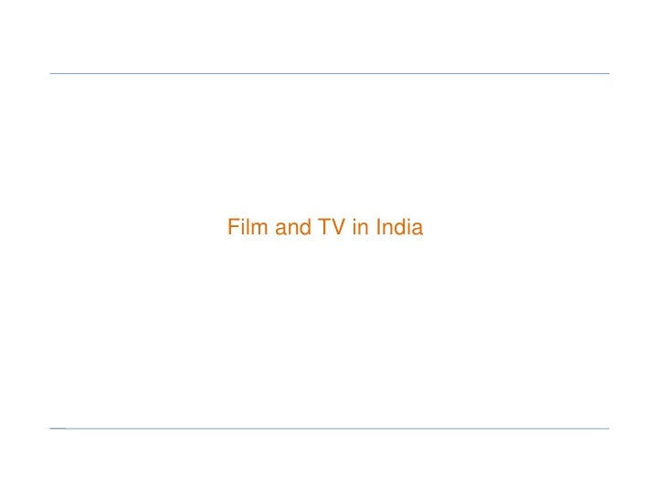 Film and TV in India