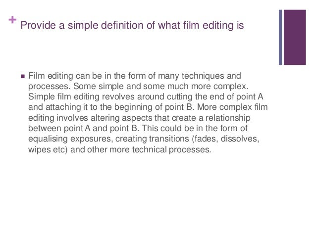 crash film editing techniques In this portion, we are explaining to you about the film editing techniques like jump cut, cut-in shot and cut away if you have a minute of time, please add your opinions about this article on the comment section below.