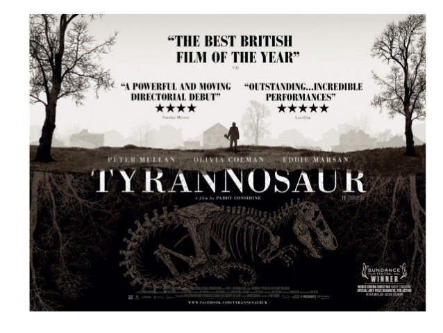Tyrannosaur - Plot The story of Joseph a man plagued by violence and a rage that is driving him to self-destruction. As Jo...