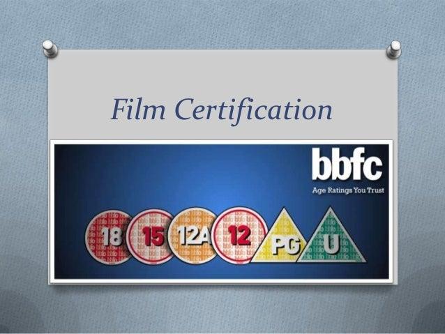 Film Certification