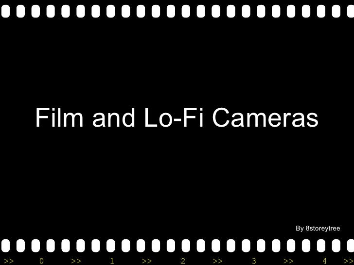 Film and Lo-Fi Cameras By 8storeytree
