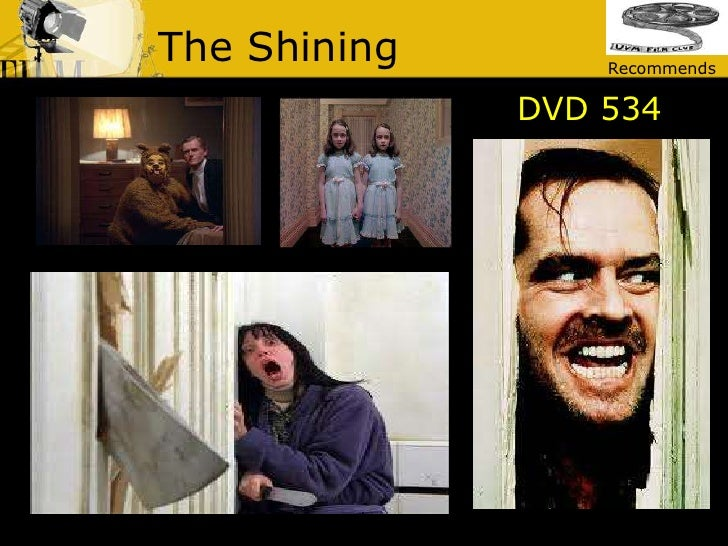 The Shining<br />Recommends<br />DVD 534<br />