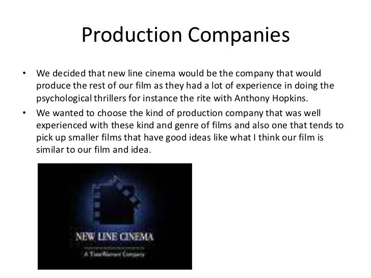 What kind of media institution might distribute your media product and why?   Slide 2