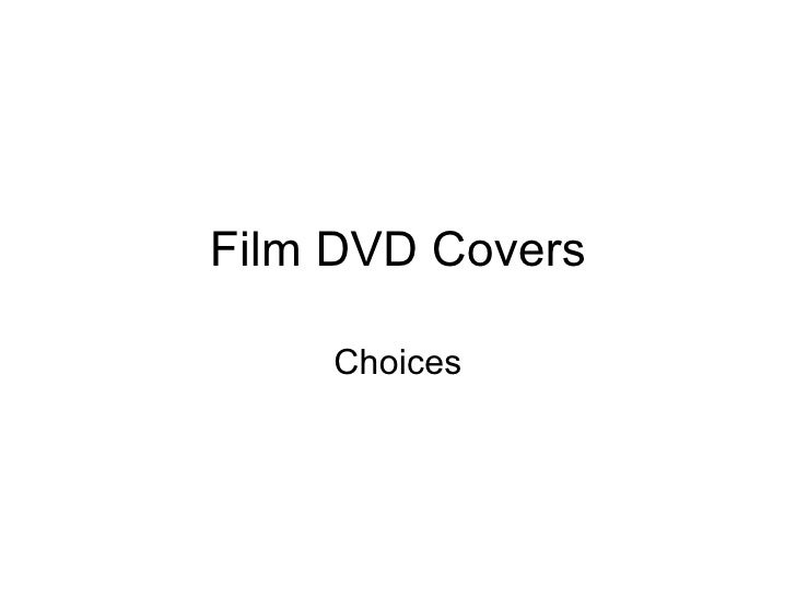Film DVD Covers Choices