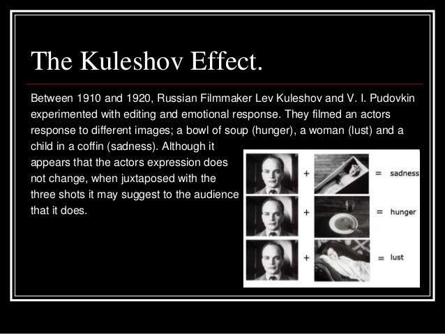 Lev kuleshov editing services
