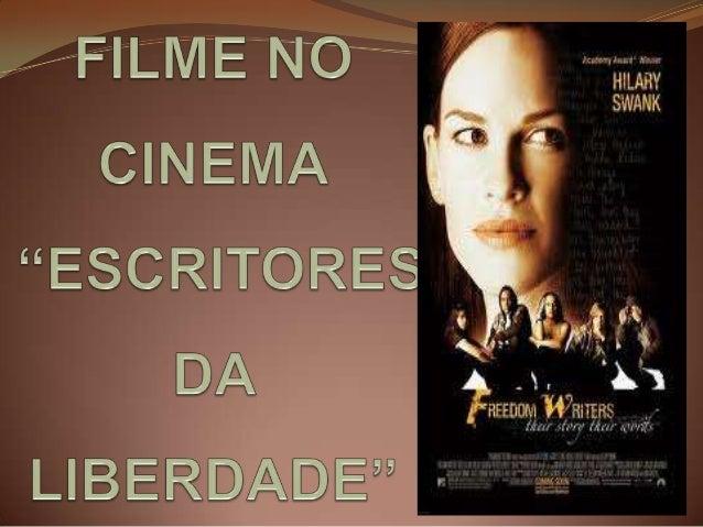 """O filme """"Escritores da Liberdade"""" (Freedom Writers) é do gênero drama, classificação para 14 anos, com duração de 123 minu..."""