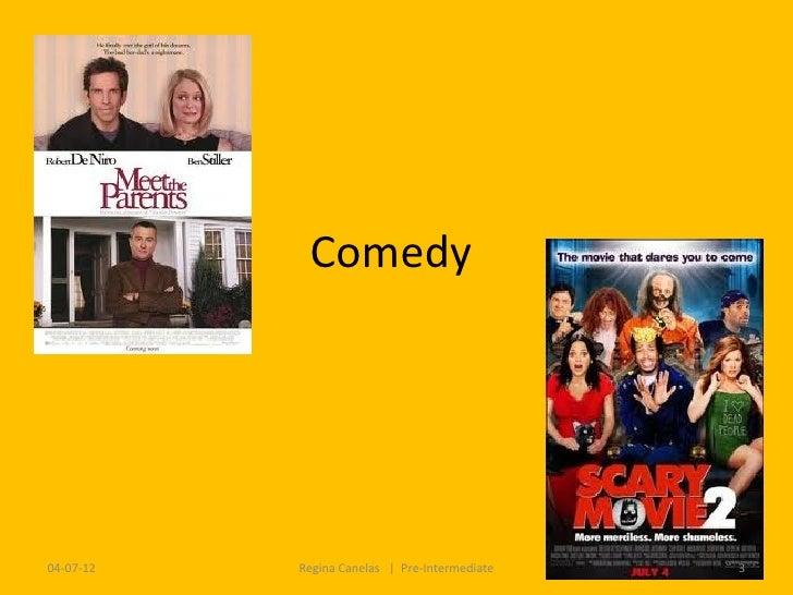 Comedy04-07-12   Regina Canelas   Pre-Intermediate   3