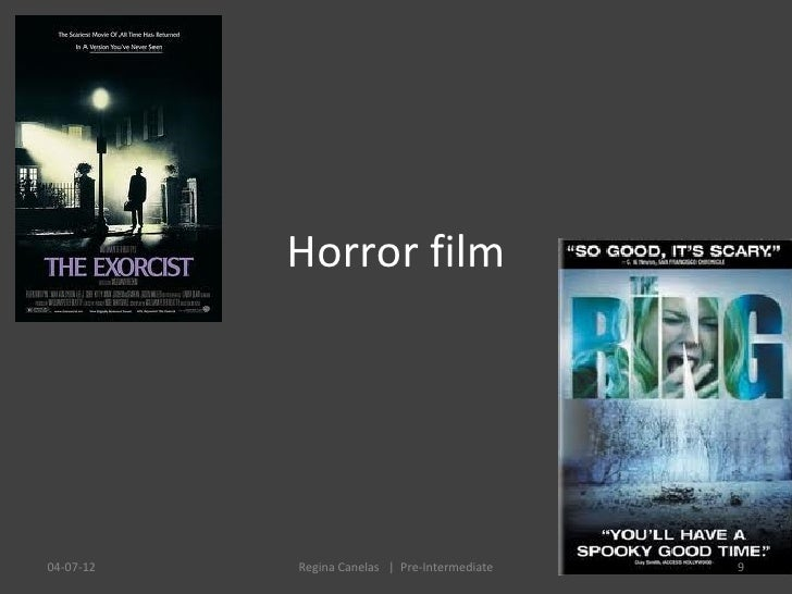 Horror film04-07-12   Regina Canelas   Pre-Intermediate   9