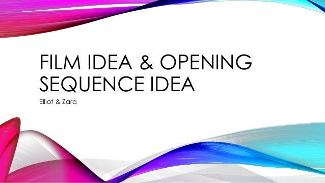 Film Idea Amp Opening Sequence Idea