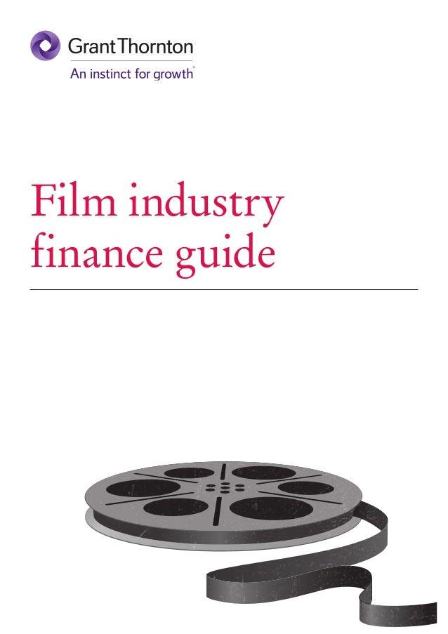 Film industry finance guide