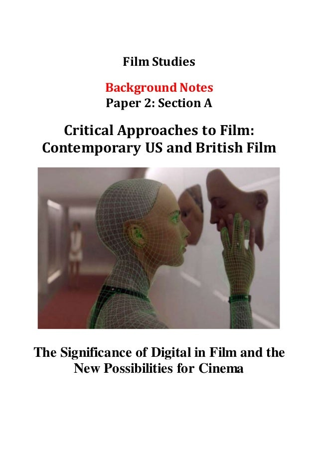 Film Industry In The Digital Age