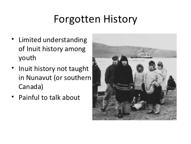 An essay on the inuit people maintaining health and well being