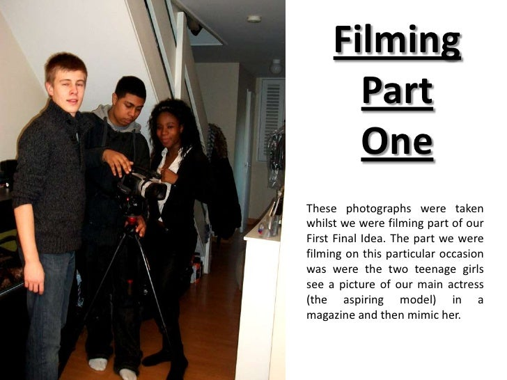 Filming Part One<br />These photographs were taken whilst we were filming part of our First Final Idea. The part we were f...
