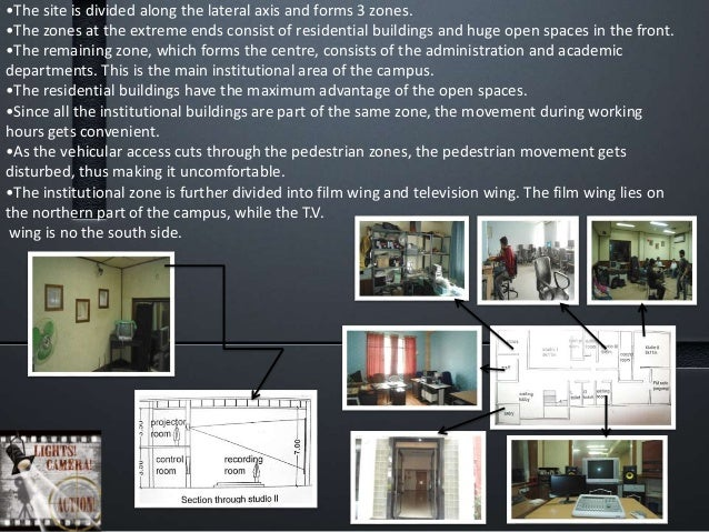 BULDING SYSTEM – •It is a RCC frame structure with cavity walls all around for better sound insulation. •All the studios, ...