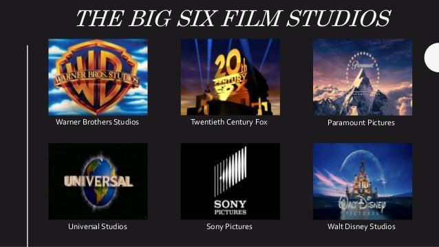Resultado de imagen para Disney, Paramount, Sony, Fox, Universal y Warner Bros
