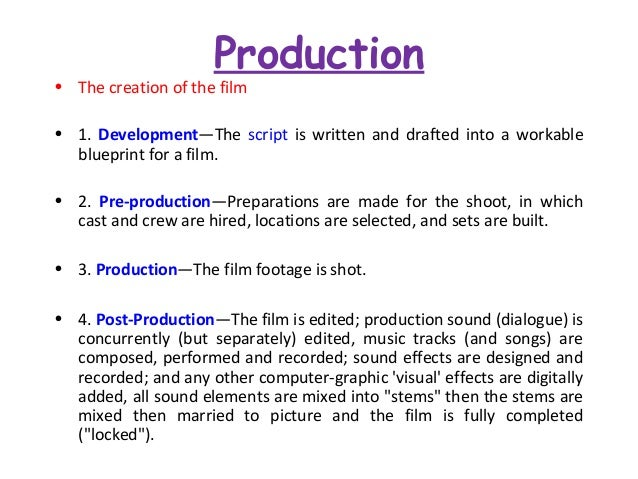 Film institutions and audiences production the creation of the film malvernweather Image collections
