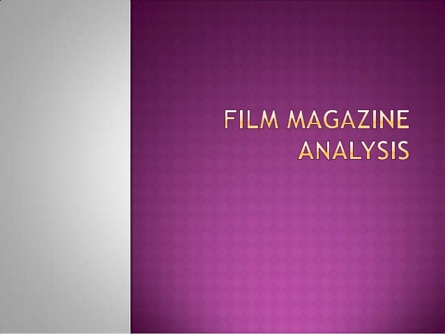  Forone of the tasks in the coursework we have to create a magazine front cover for our film, therefore I am going to loo...