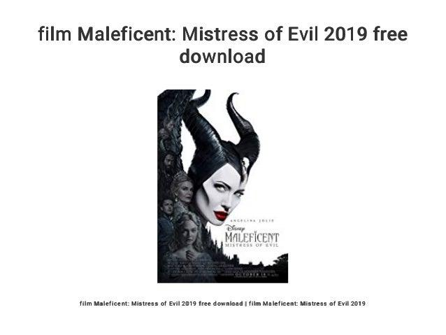 Film Maleficent Mistress Of Evil 2019 Free Download
