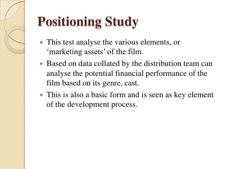 Film marketing & present senario
