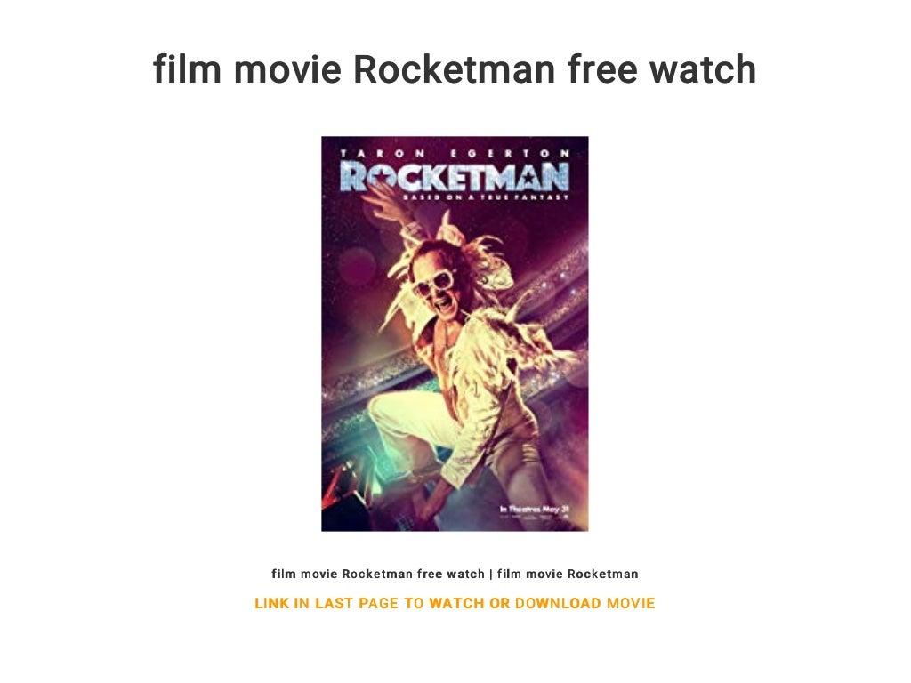rocketman full movie free