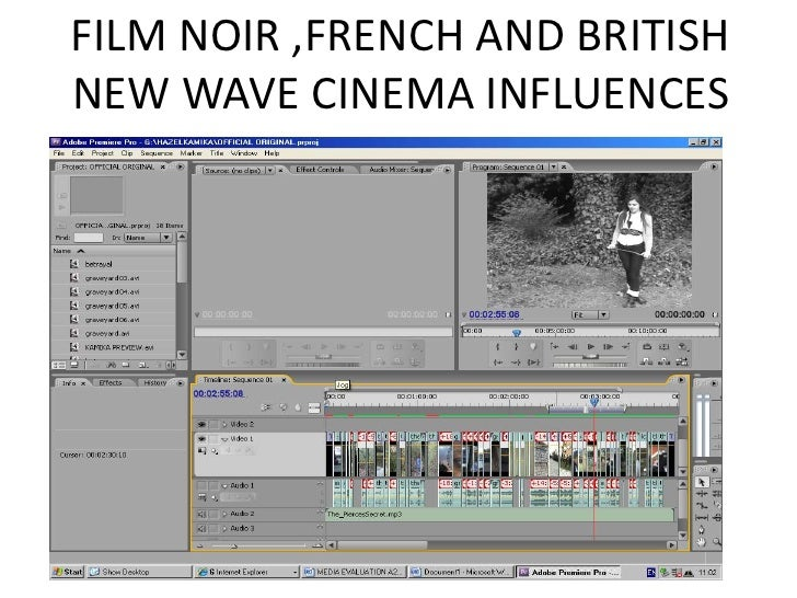 influence of the french new wave The french new wave (also known as the nouvelle vague) sparked somewhat of a filmic revolution in this regard.